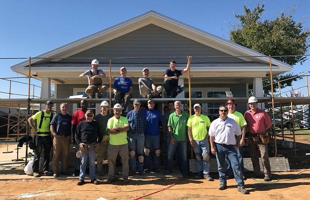 Habitat for Humanity CEO Build 2017